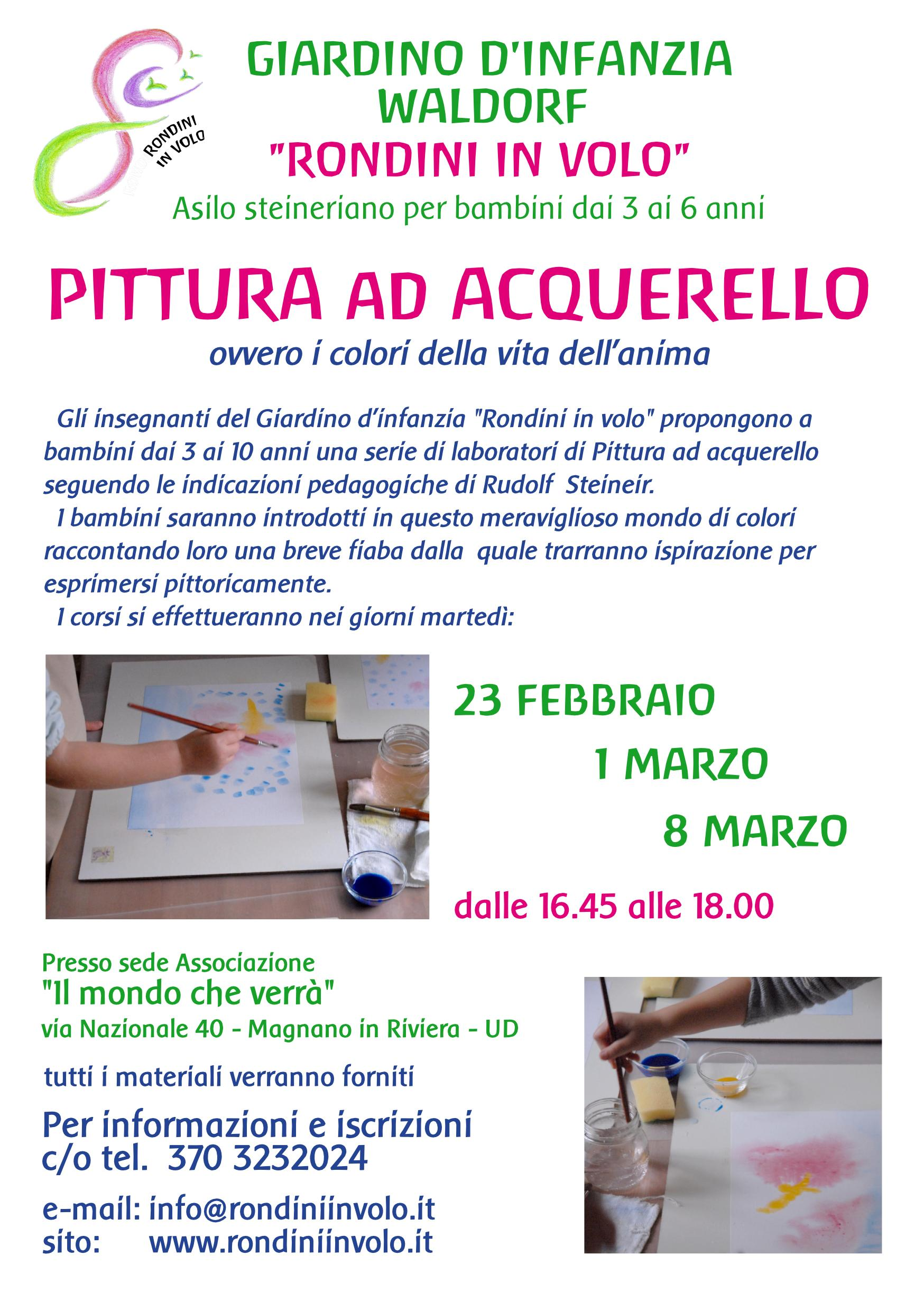 20160223 - Laboratori Pittura Acquerello